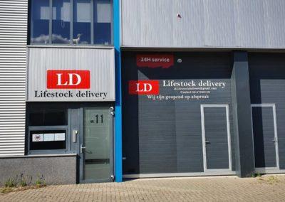 Lifestock delivery