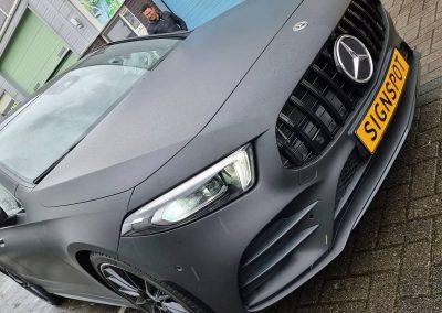 Mercedes A Klasse matte wrap